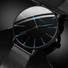 2020 Minimalist <b>Men's Fashion</b> Ultra Thin <b>Watches</b> Simple <b>Men</b> ...