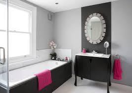 bathroom shower tile design color combinations: pink accented transitional bathroom freshome color bathroom pink accented transitional bathroom