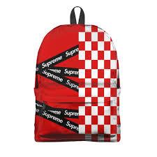 Рюкзак 3D Supreme #2736547 – рюкзаки с принтами в Москве от ...