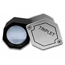 <b>Лупа Kromatech ювелирная</b> шестигранная 10x, 20,5 мм ...