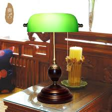 chiang bank lamp light retro green cover american office desk lamp retro lamp republic lamp specials cover desk