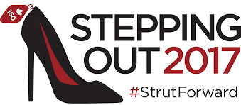stepping out dress for success ottawa fundraising gala logo transparent 2017