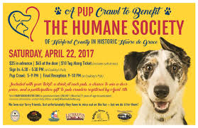 pup crawl to benefit humane society of hartford co havre de the pup crawl officially begins at 5pm and we invite you to these other fine establishments during the evening backfin blues creole de graw