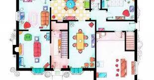 TV Floorplans   List of Cool Fictional Apartments  amp  Houses