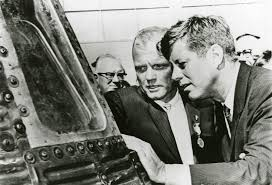 Image result for John Glenn and JFK