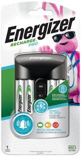 Energizer <b>Recharge</b> Pro <b>AA</b> & <b>AAA Battery</b> Charger, Includes 4 ...