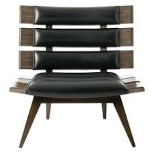 nspired by the sleek lines of mid century modern design the mercedes chair by black leather mid century