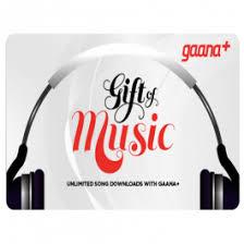Gaana Gift Cards Online   Buy Gaana.com 12 Month Subscription ...