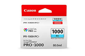 <b>Canon PFI-1000 PC PHOTO CYAN</b> INK TANK, 0- Buy Online in Sri ...