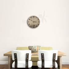 Hoopoe Decor Pine <b>wood</b> finish <b>plank</b> Trendy <b>Wall Clock</b> - Buy ...