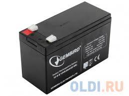 "<b>Аккумулятор для ИБП</b> ""<b>Gembird</b>"" BAT-12V9AH — купить по ..."