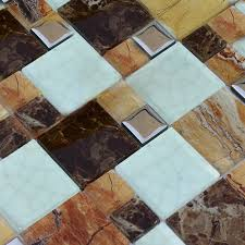 marble tile pattern effect kitchen bathroom wallpaper