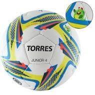 <b>Футбольный мяч TORRES Junior</b>-<b>4</b> р.4, вес 310-330 г, глянцевый PU