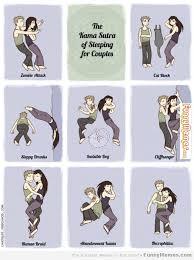 FunnyMemes.com • Funny memes - [Kama Sutra of sleeping for couples] via Relatably.com