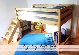ana white big boy toddler loft bed diy projects bunk beds toddlers diy