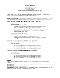 resume for restaurant resume format pdf resume for restaurant restaurant manager resume sample resume for restaurant manager