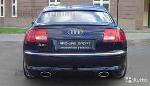 <b>Спойлер на кромку багажника</b> Audi A8 D3 купить в Москве на ...