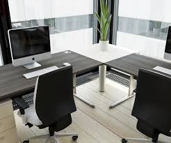 amazing modern home office furniture with nice table amazing gray office furniture