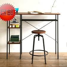 american country loft style antique wood desk combination desk vintage wrought iron mash separator american country wrought iron vintage desk