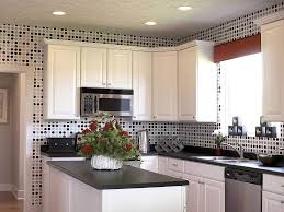 beautiful white kitchen cabinets: kitchenbeautiful small kitchen design with black kitchen countertop and l shape white kitchen cabinet