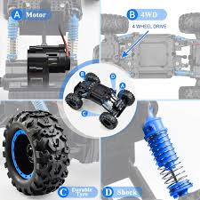 Amazon.com: NQD <b>Remote</b> Control Trucks Monster <b>RC Car 1: 12</b> ...