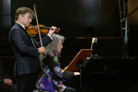 Mercurial <b>Martha</b>: <b>Argerich</b> springs a surprise in recital with Renaud ...