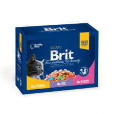<b>Brit Premium</b> Cat Pouches <b>Family</b> Plate (12 <b>паучей</b>)