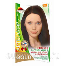 <b>Краска для волос АртКолор</b> Gold 103 черный шоколад, цена 490 ...