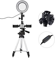<b>16cm Ring Light</b> Set, Selfie Light <b>LED Ring Light</b> 5500K with Tripod ...