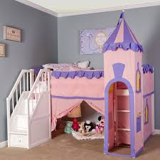 furniture pink and violet princess loft bed with white stairs in most seen images the adorable dining bedroomendearing small dining tables