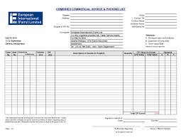 doc packing template packing list template for how to make invoices in excelpacking slip templates packing list packing template