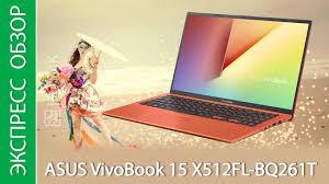 Экспресс-обзор <b>ноутбука ASUS VivoBook</b> 15 X512FL-BQ261T ...