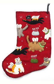 images texas christmas pinterest stockings free shipping and returns on new world arts angel cat christmas stocki