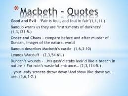 Image gallery for : important scene quotes from macbeth