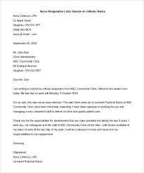 two weeks notice letter 31 word pdf documents nurse resignation letter sample on 2 weeks notice