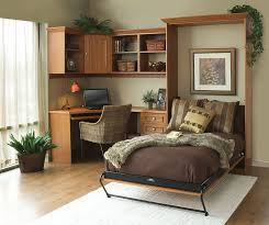 smart home office with a murphy bed for guests from tailored living bedroom guest office combination