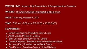 The Economic Impact of the      Ebola Epidemic  Short and Medium     Image