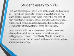 pre writing strategies what are you like strongest personality  student essay to nyu i am a dynamic figure often seen scaling walls and crushing