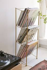 corner store vinyl record rack i must say i like great for organising different things front shot finished vinyl record
