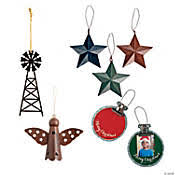 <b>Metal Christmas</b> Tree Ornaments | Oriental Trading Company
