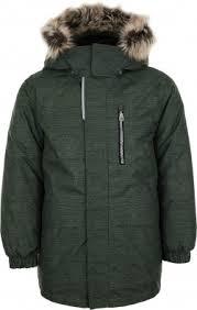 <b>Куртка</b> утепленная для <b>мальчиков LASSIE</b> Yanis зеленый цвет ...