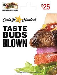 Hardee and Carls Jr Gift Card $25: Gift Cards - Amazon.com
