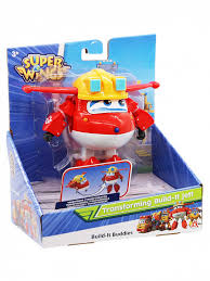 Трансформер <b>Джетт Super Wings</b> EU730211 <b>Команда</b> строителей
