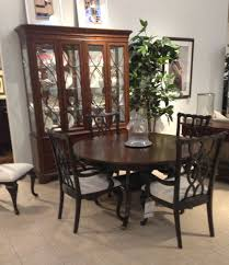 Thomasville Dining Room Set Ethan Allen Queen Anne Dining Room Table Set 550 W China Chairs
