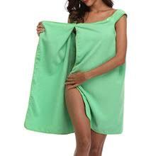Быстросохнущее пляжное полотенце из микрофибры, носимое ...