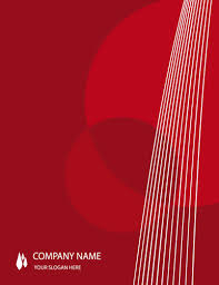 16 Creative Cover Page Design Templates in Word Red-background-abstract-cover-page-template