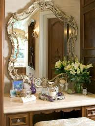 built bathroom vanity design ideas:  ci sfa design antique inspired makeup vanity traditional sxjpgrendhgtvcom
