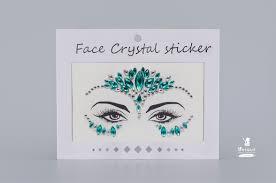 Стразы-<b>наклейки</b> <br><b>Face</b> Crystal YT-46 Crystal <b>Face</b> для <b>лица</b> ...