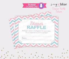 gender reveal diaper raffle tickets pink blue chevron twins baby gender reveal diaper raffle tickets pink blue chevron twins baby shower games printable diaper raffle ticket diy printable instant