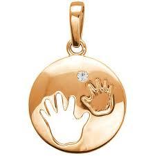 Золотой <b>медальон Эстет</b> 01P113582 с фианитом — купить в ...